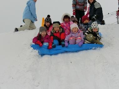 園外雪遊び遊び(くりグループ) ②