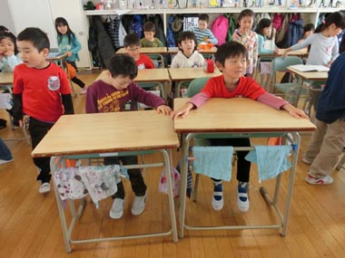 手稲東小学校に行ってきました!(年長)②
