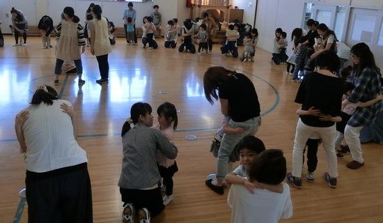 親子レクリエーション⑤、西野中央公園散歩(年長)