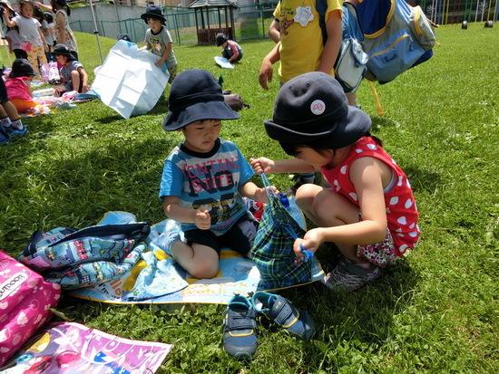 さくらんぼグループ+年長 ピクニック