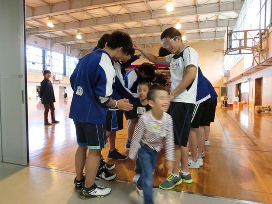 手稲東中学校の3年生とふれあい交流会☆