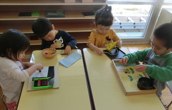 幼稚園1日目