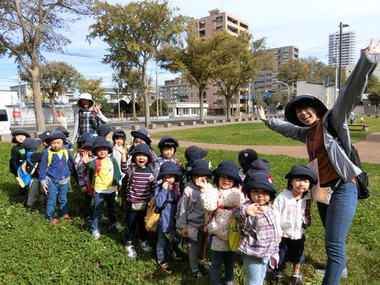 円山公園遠足 ~年少組~