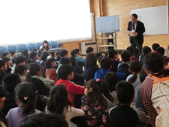 手稲東小学校に行ってきました!(年長組)