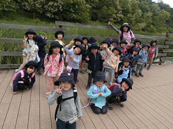 くりグループ 五天山公園遠足