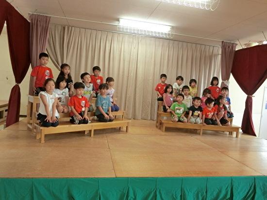 発表会 舞台練習が始まりました!
