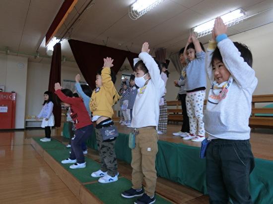 舞台練習~さくらんぼグループ~