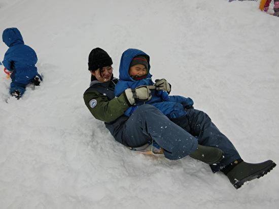 さくらんぼグループ 雪遊び