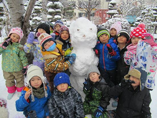 冬休み 幼稚園の様子